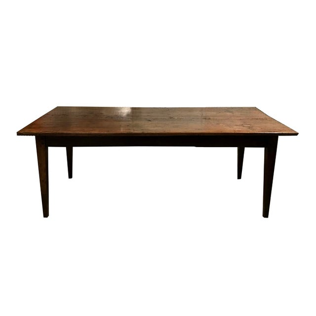 Antique Spanish Teak Dining Table For Sale - Image 9 of 9