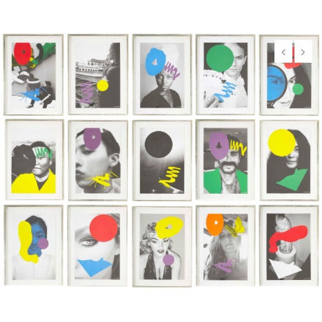 John Baldessari in Collaboration With Among Others Kaws, Ed Ruscha and Ai Weiei For Sale