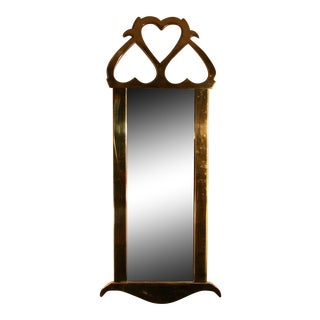 Brass Mastercraft Mirror For Sale