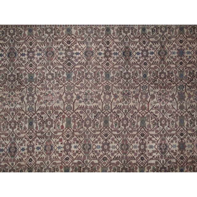 Leon Banilivi Antique Sultanabad Rug - 8′6″ × 12′ For Sale - Image 4 of 5