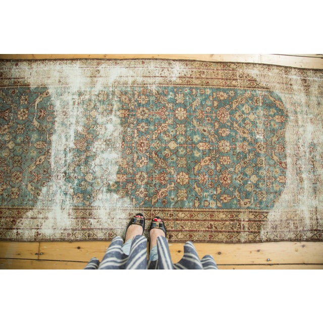 """Antique Malayer Rug Runner - 3'6"""" x 13'3"""" - Image 3 of 10"""