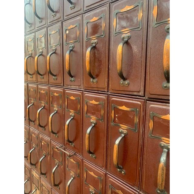 Vintage Industrial File Cabinet For Sale - Image 4 of 13