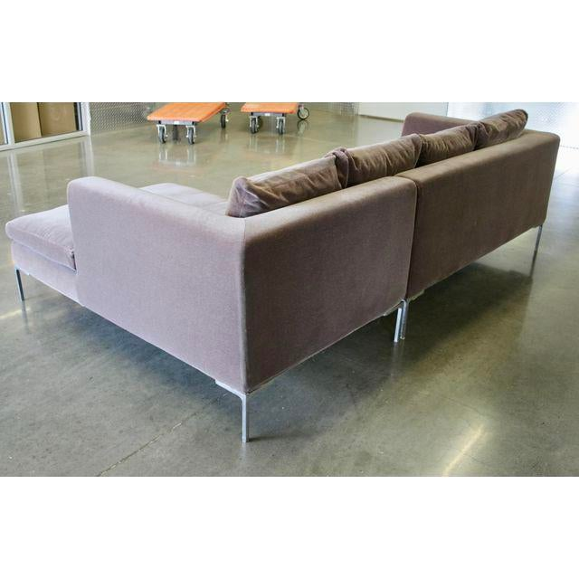 Charles Sofa by Antonio Citterio for B&b Italia in Mohair - Image 2 of 10