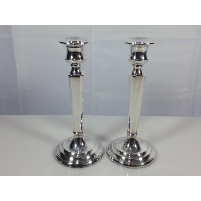 Restoration Hardware Candlesticks - A Pair - Image 9 of 9