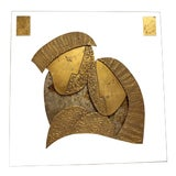 Image of 1980s David Marshall Wall Sculpture For Sale
