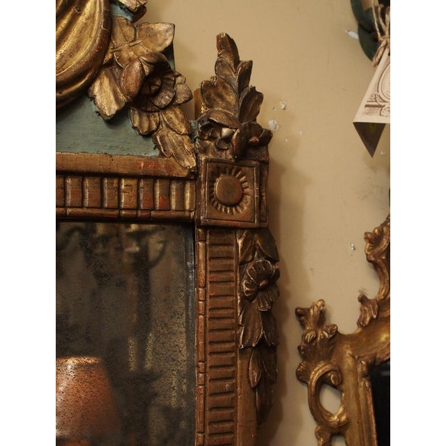 19th Century French Trumeau Mirror For Sale - Image 4 of 5