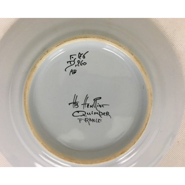 Late 20th Century Quimper Plates - A Pair For Sale In Washington DC - Image 6 of 8