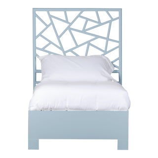 Tiffany Bed Twin - Blue For Sale