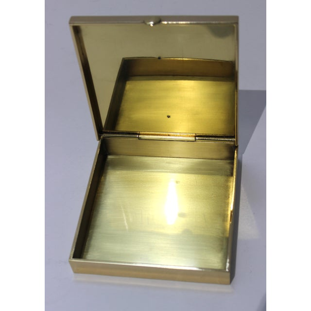 Traditional Vintage Vassilis Zoulias. Brass Box For Sale - Image 3 of 13