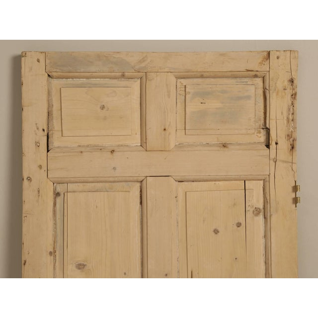 Antique Irish interior exterior door, that we purchased from Rod an Irish pine dealer, in the town of Derby, England, over...