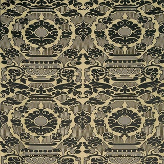 Sample, Suzanne Tucker Home Piacevole Silk Linen Jacquard Fabric For Sale