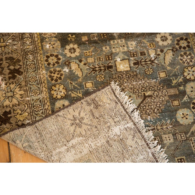 """Vintage Distressed Malayer Rug - 3'3"""" X 4'7"""" For Sale In New York - Image 6 of 11"""