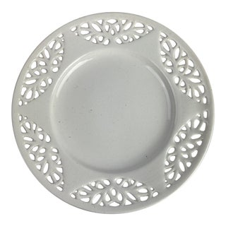 Creamware Plate For Sale
