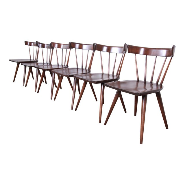 Paul McCobb Newly Refinished Planner Group Dining Chairs - Set of 6 For Sale - Image 13 of 13