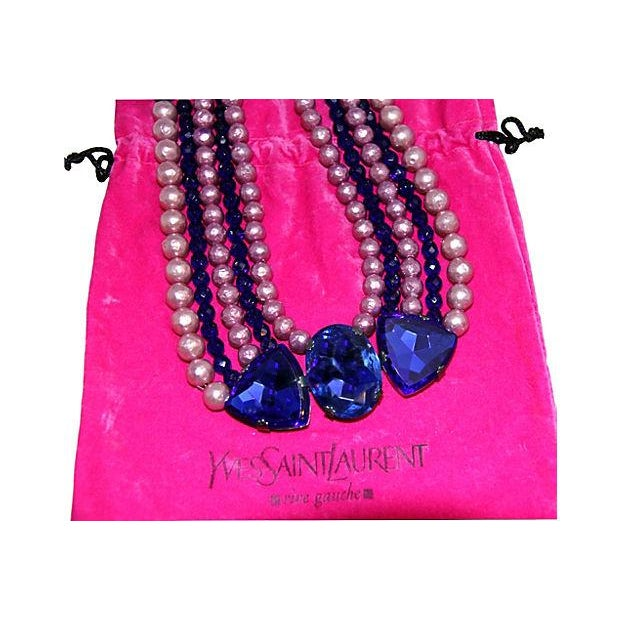 1970s Yves Saint Laurent Rive Gauche Necklace For Sale In Los Angeles - Image 6 of 7