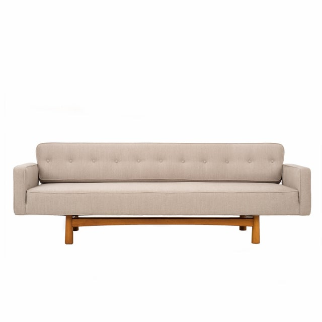 Edward Wormley Gondola Style Sofa for Dunbar For Sale - Image 11 of 11
