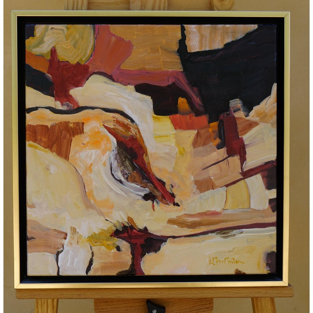 "Abstract Laurie MacMillan ""Southwest Syncline"" Landscape For Sale In Los Angeles - Image 6 of 6"