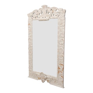 French Provençal Carved Mirror