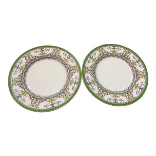 1940s Minton Boston Porcelain Plates - a Pair For Sale