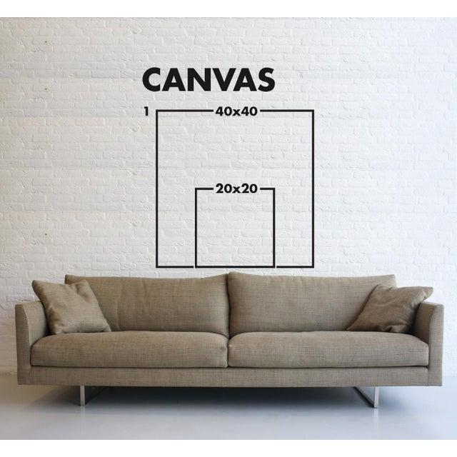 Contemporary Cuadratura #04 Framed Print on Canvas by Rodrigo Martin For Sale - Image 3 of 4