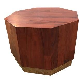 Mid-Century Modern Octagonal Coffee Table
