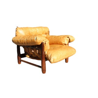 1950s Mole Lounge Armchair by Sergio Rodrigues For Sale