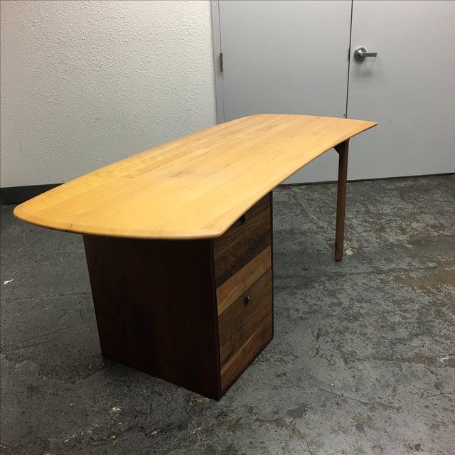 Organic Modern Work-1 Desk - Image 5 of 9