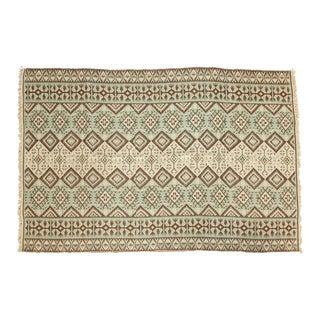 "Vintage Kilim Carpet - 5'10"" x 8'10"" For Sale"
