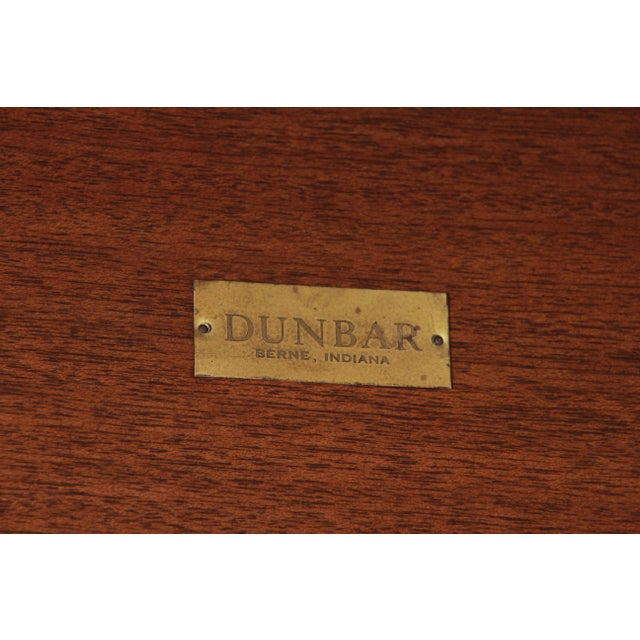Edward Wormley for Dunbar Mahogany Double Bookcase For Sale - Image 10 of 11