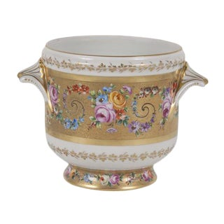 French Ceramic Cachepot by Le Tallec For Sale