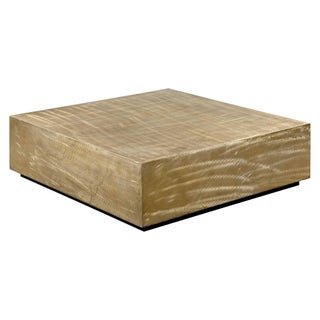 Modern Metallic Brass Finish Coffee Table Preview