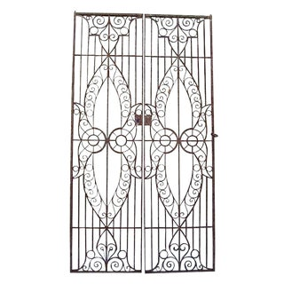 19th C. Egyptian Iron Gates - A Pair