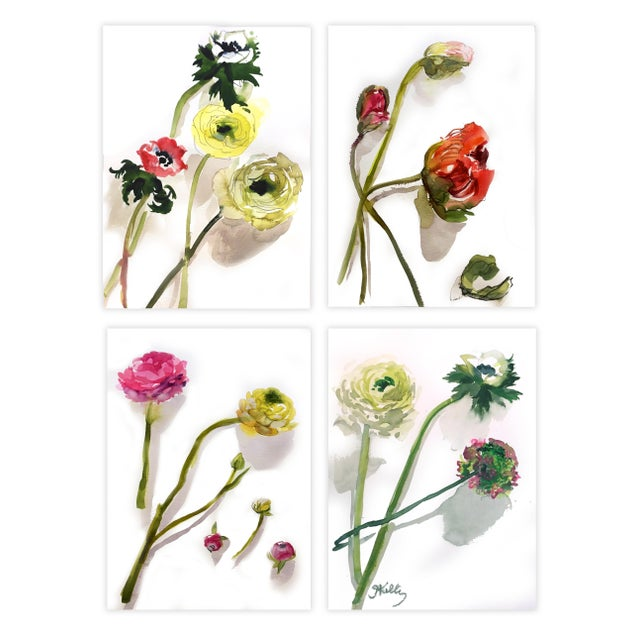 Flower painting fills me with joy. It makes the winter months pass with less of a chill. I buy flowers from my local...