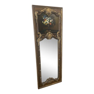 1990s Hand-painted La Barge Mirror For Sale