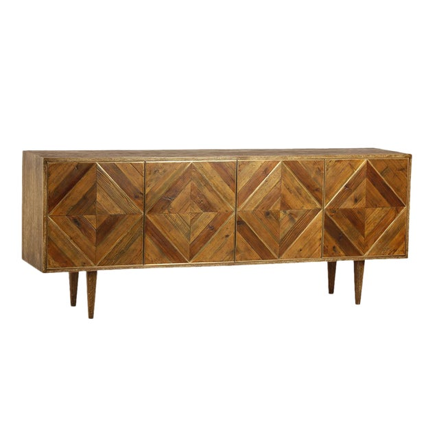 Mid-Century Style Wood Sideboard For Sale