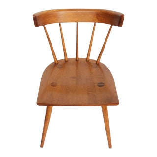 Mid-Century Paul McCobb Spindle Back Side Chair For Sale