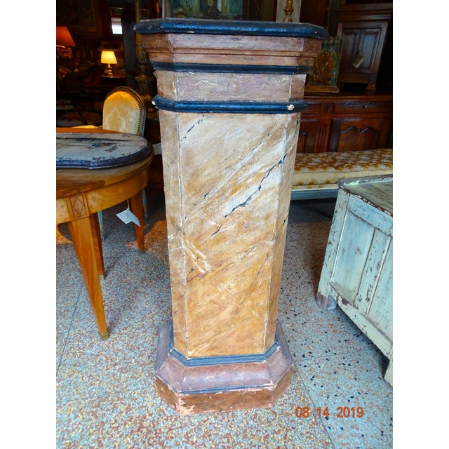19th Century Italian Pedestal For Sale In New Orleans - Image 6 of 11