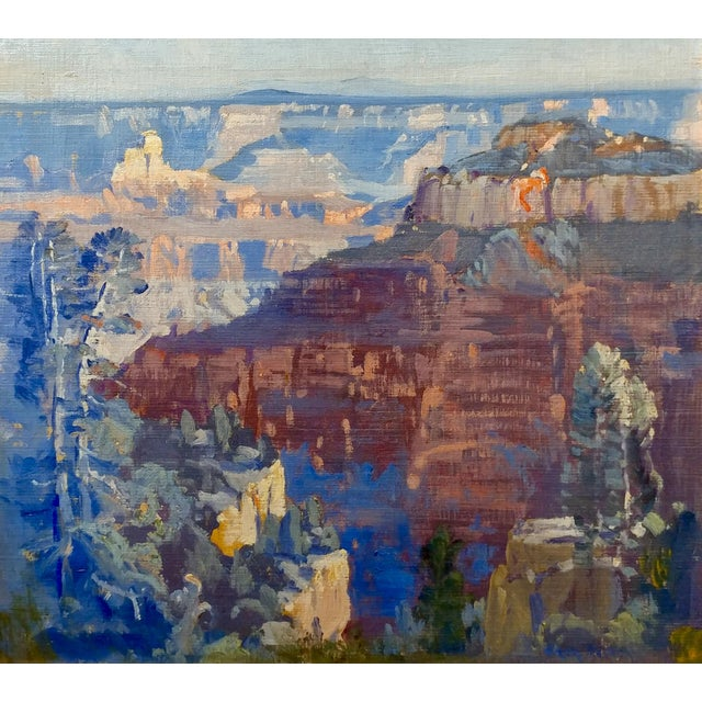 Fitch Fulton Grand Canyon Landscape Oil Painting - Image 2 of 11
