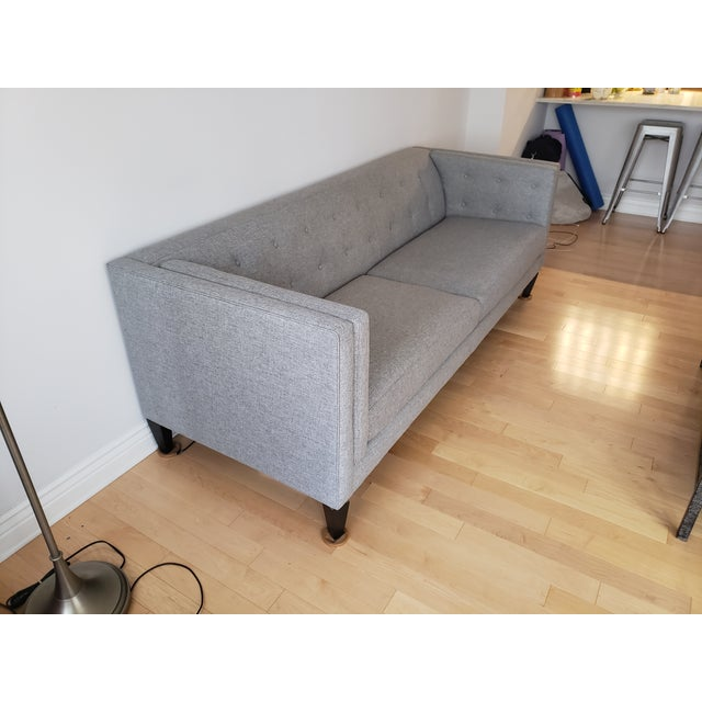 Contemporary Crate & Barrel Aidan Sofa For Sale - Image 3 of 7
