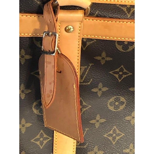 Brown Louis Vuitton 40 Monogram Canvas Luggage Bag For Sale - Image 8 of 12