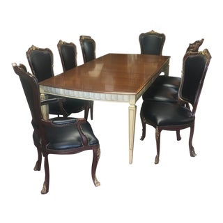 Vintage 1950s French Style Dining Set