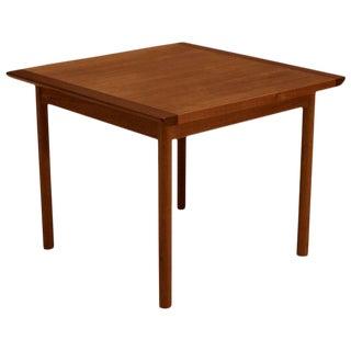 1960s Vintage Scandinavian Teak Side Table by Westnofa For Sale