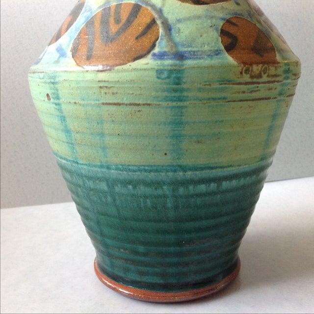 French Modern Art Studio Pottery Vase - Image 5 of 11