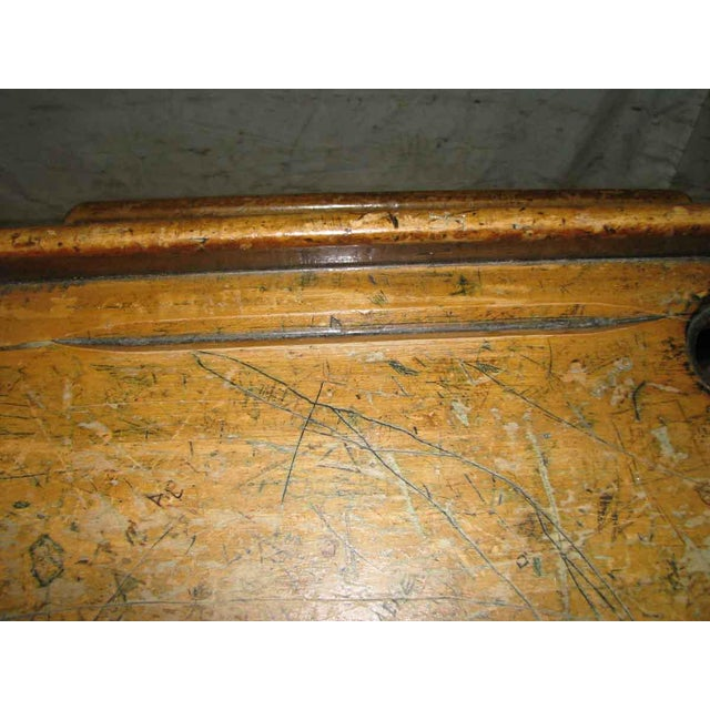 Old School House Student Desk - Image 8 of 9