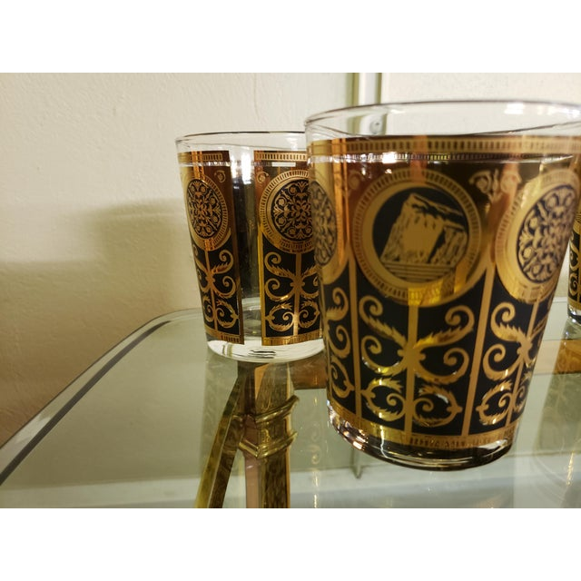 Here's a set of five low ball glasses that were manufactured by Libbey for Prudential Insurance Company as commemorative...