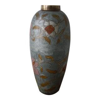 Tall Cloisonne Vase