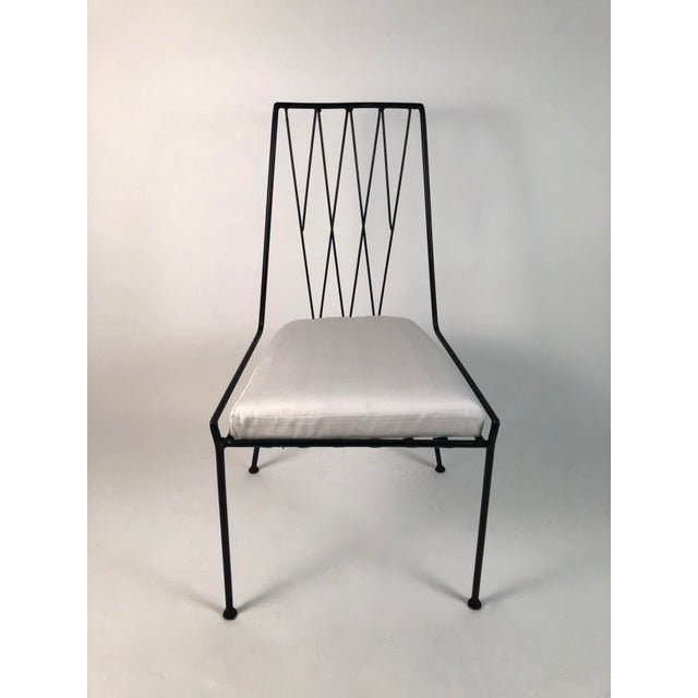 Metal Paul McCobb Pavilion Collection Table and 4 Chairs For Sale - Image 7 of 12