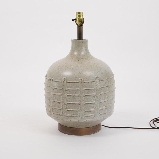 David Cressey Pro Artisan Table Lamp for Architectural Pottery For Sale - Image 9 of 12