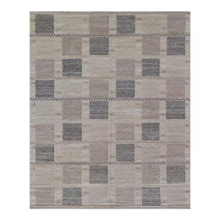 Swedish Flat-Weave Inspired Rug For Sale