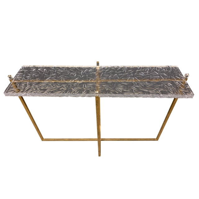 Modern Contemporary Jensen Console Table For Sale
